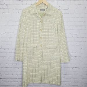 Kate Hill Tweed Trench Jacket